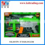 B/O guns plastic guns and weapons for kids