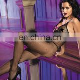 Exotic open crotch body stocking erotic female underwear halter low-cut with rosette adult bodystocking