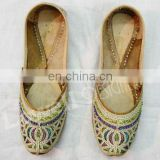 hand EMBROIDERY LADIES MOJARI SHOES