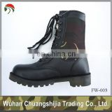 military type jungle boot tubber sole