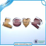 Christmas decoration supplies color Love Shape coated cookie cutter
