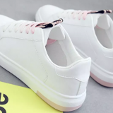 C2Young white shoe female spring 2018 new chic shoe 100 match student canvas shoe han edition