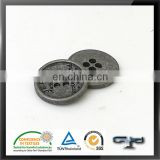 Small 4 hole antique alloy sewing blazers metal button