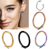 Ins hot stainless steel, stainless steel titanium steel earrings earrings, nose studs, human body piercing, foreign trade manufacturers wholesale