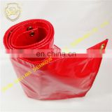 Big red rainproof cloth waterproof tarpaulin knife scraping cloth coatedtarpaulin factory