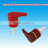 28mm metal liquid foaming hand soap dispenser plastic pump