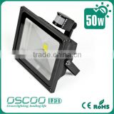 Oscoo Manufacturer Hot IP65 Die Casting Aluminium CE&Rohs 50 Watt IR LED Flood Lighting with Epistar Chip & Meanwell Driver
