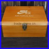 Customized Nike Wooden Shoe Box