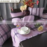 100% polyester yarn-dyed table napkin