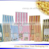 brown kraft food packaging paper bag with window                                                                                                         Supplier's Choice