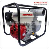 KINGCHAI 4 inch 7hp standard fuel tank gasoline water pump wp40 for Agricultural use with low price