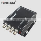 4 channel Analog cameras over one Coaxial cable /video multiplexer/Coaxial video multiplexer