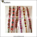 Handmade Cotton South American String Friendship Bracelets