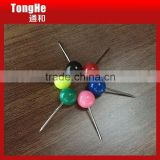 6mm ball shaped plastic head map pins for office & household                                                                         Quality Choice