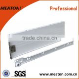 Hot style!! Factory direct sale metal box drawer slide, metal box channel, metal box runner