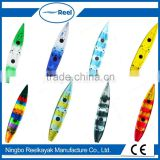 China wholesale pupular fishing kayak for two persons/No inflatable LLDPE kayak-ocean angler