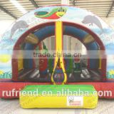 Designed specifically for children Inflatable bounce combinations Small inflatable jumping castles supplier