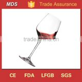 Fashion wholesale hand blown fine red and white wine glasses                                                                         Quality Choice