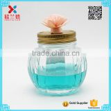 hand blown decorative 250ml glass food jar                                                                                                         Supplier's Choice