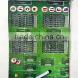 football world cup magnet matching board