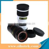 Universal 8X Zoom Optical Lens Mobile Phone Telescope Clip Lens for iPhone Samsung HTC Cell Phone Clip Lens