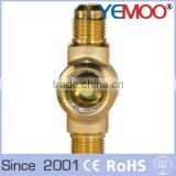 YEMOO SGI level sight glass high pressure oil sight glass for condensing unit