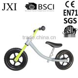14 inch nice wooden steel aluminum balance bike for 3 to 6 years old kids