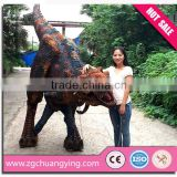 21kg lightest and vivid movements life size machine dinosaur costume
