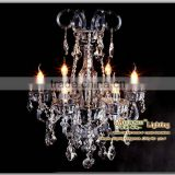 2013 New Arrival CE&UL Standard Modern Elegant Chandelier Crystal with 6 Metal Arms MDS42 L6 D580mm H800mm