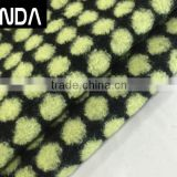 Yarn dyed wool acrylic polyester blend jacquard fabric for winter overcoats