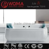 75.9inch hot sale luxury indoor whirlpool bathtub,large size whirlpool massage bathtub for three people Q363