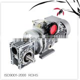 Combination of wj MB002-NMRV063 agriculture gearbox,planetary helical bevel gear gearbox, motor speed reducer reducers