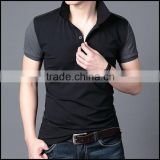 fashion new design with cheap price and two color polo t-shirt from china