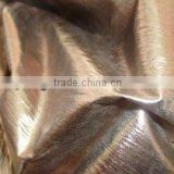 four way stretch bronzed nylon fabric for swimsuit