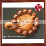 Popular Religious Prayer Bracelets, Buddhist Red Sandalwood Bangles, Wood Beads Jewelry