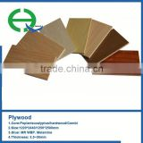 high quality laminated plywood sheet for furniture/construction/decoration