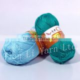 Bamboo And Acrylic Yarn Soft Yarn Hand Knitting Yarn                                                                         Quality Choice