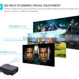2000:1 Contrast Radio lcd led projector ,2000 lumens Home Theater Cinema Pico Portable projector