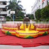 Hot selling mechanical rodeo bull for sale, mechanical bull at lower price