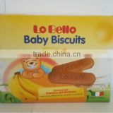 LO BELLO Baby Biscuits Banana