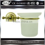 Modern Style High Quality Bathroom Accessory Brass&Jade Toilet Brush with Holder