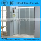 Straight Line Shower Room (2 fixed glass + 3 sliding glass)// PERSONAL CUSTOMIZE//HEXAD GLASS &HEXAD INDUSTRIES