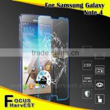New products 2015 0.3mm Premium 3d curved tempered glass screen protector for samsung note 4
