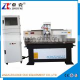 Jinan Zhuoke CNC Router Machine For Wood Aluminum Acrylic ZKM-1325 With 3.2KW Water Cooling Spindle PCI NcStudio Controller