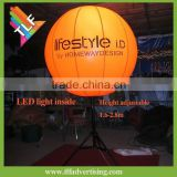 Inflatable tripod stand light balloon/fixed inflatable RGB LED balloon/inflatable balloon bracket