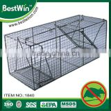 MSDS Certification foldable collapsible mouse cage trap,ultrasensitive animal cage,stainless steel metal cage