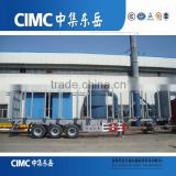 CIMC ATV Timber Transporting Semi Trailers /Wood Transport Box Trailer for Sale