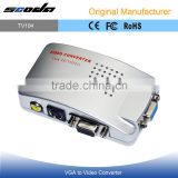 Supports NTSC PAL system HDMI PC VGA to TV AV RCA Signal Adapter Converter Video Switch Box