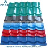 types of roof tiles, colorful metal roof tile, high quality roofing sheet