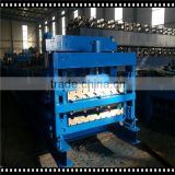 on discount !Roof Sheet Double Deck Roll Forming Machine/ Dual Rolling Wall Panel Forming Machine